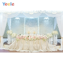 Yeele Wedding Curtain Family Photocall Party Decor Photography Backdrops Personalized Photographic Backgrounds For Photo Studio недорого