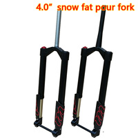 MODENG Snow MTB Moutain 26inch Bike Fork Fat bicycle Fork Air Gas Locking Suspension Forks Aluminium Alloy For 4.0Tire 150MM