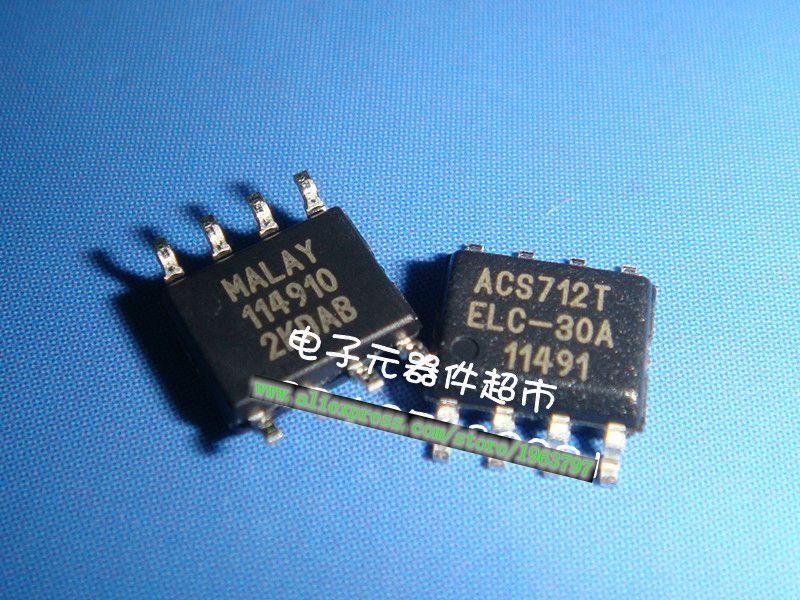1pcs/lot ACS712TELC-30A ACS712 SOP-8 In Stock