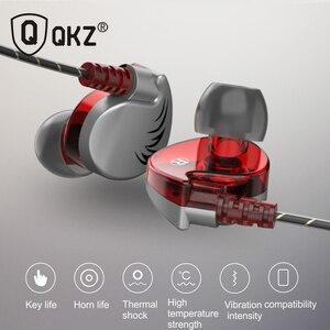 Image 5 - 100% オリジナル QKZ CK7 イヤホンで、耳の制御スピーカー有線 3.5 ミリメートルヘッドセットとマイク 1.2 メートルインイヤースポーツイヤホン
