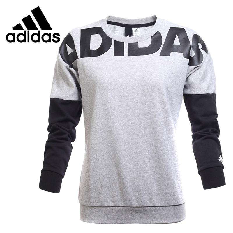 Original New Arrival Adidas EN LETTER CREW Women's Pullover Jerseys Sportswear original new arrival 2017 converse men s pullover jerseys sportswear