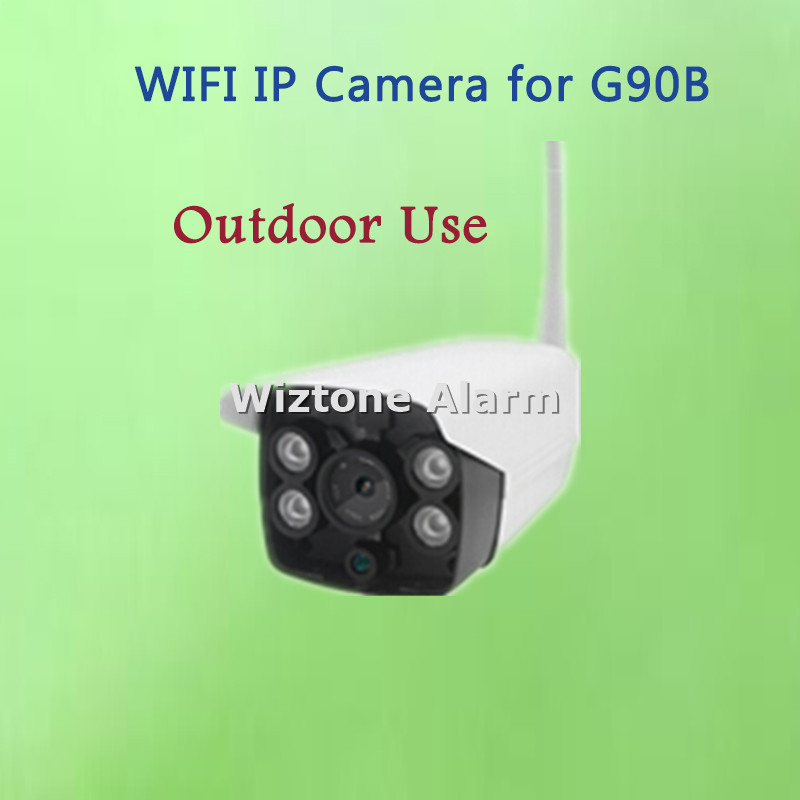 Outdoor WIFI IP Camera for G90B WiFi GSM Home Burglar Alarm System Security IOS Android APP Supported HD Outdoor WIFI Camera yobangsecurity android ios app wifi gsm home burglar alarm system with wifi ip camera relay pir detector magnetic door contact