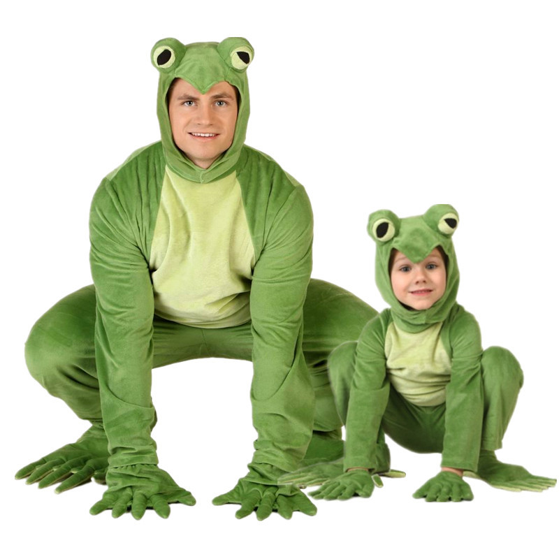 Hot cosplay Halloween costume party costume cartoon frog cartoon frog costume adult deluxe costume