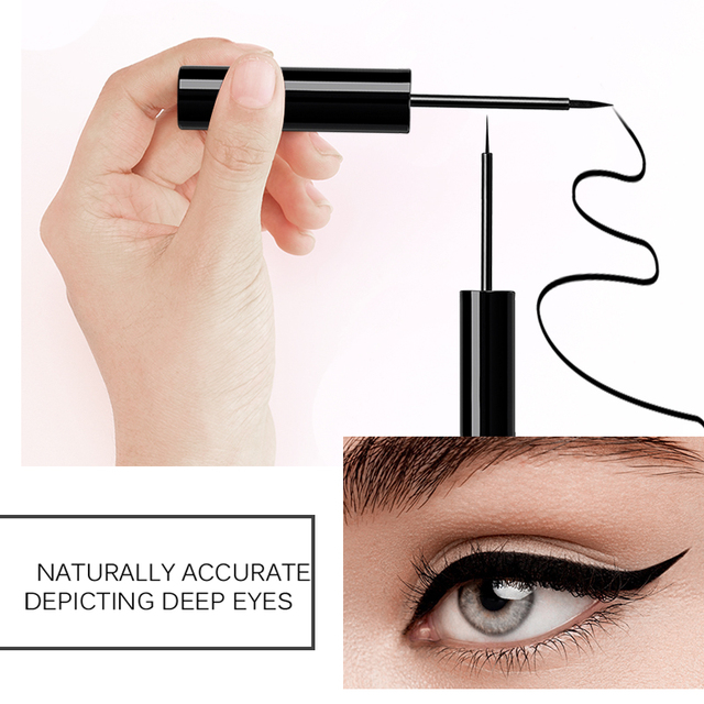MIXDAIR Eyeliner Waterproof Liquid Eyeliner Beauty Cat Style Black Long-lasting Eye Liner Pen Pencil Makeup Cosmetics 3