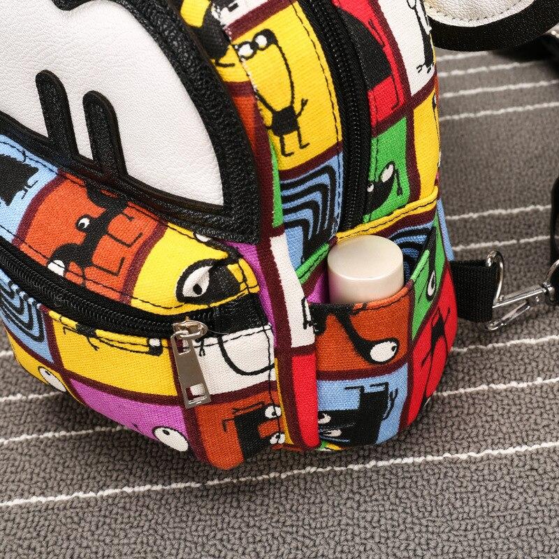 2019 Cute Mouse Backpack Small Women Backpack Girl Small Travel Bag Backpack Female Mickey Children Bag Rucksack Mochila Bagpack