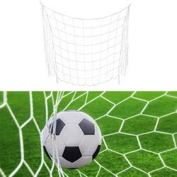 1 шт Футбол стойки ворот чистая матч обучение младший полипропилен + хлопок смешанные волоконная сетка 1,2X0,8 м