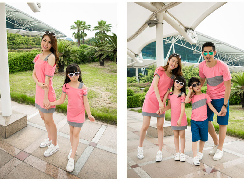 HTB1s5S2JFXXXXcmXVXXq6xXFXXXX - Entire Family Fashion - Matching Family Outfits, Smart Casual Styling, 3 Color Options