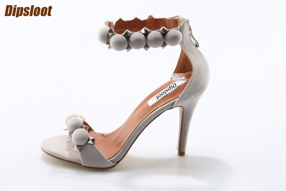 Summer Fashion Women Studded Sandals Sexy Open Toe T-Straps Ladies High Heels Female Elegant Party Shoes Dress Shoes Size 42 платье rinascimento rinascimento ri005ewbciv4
