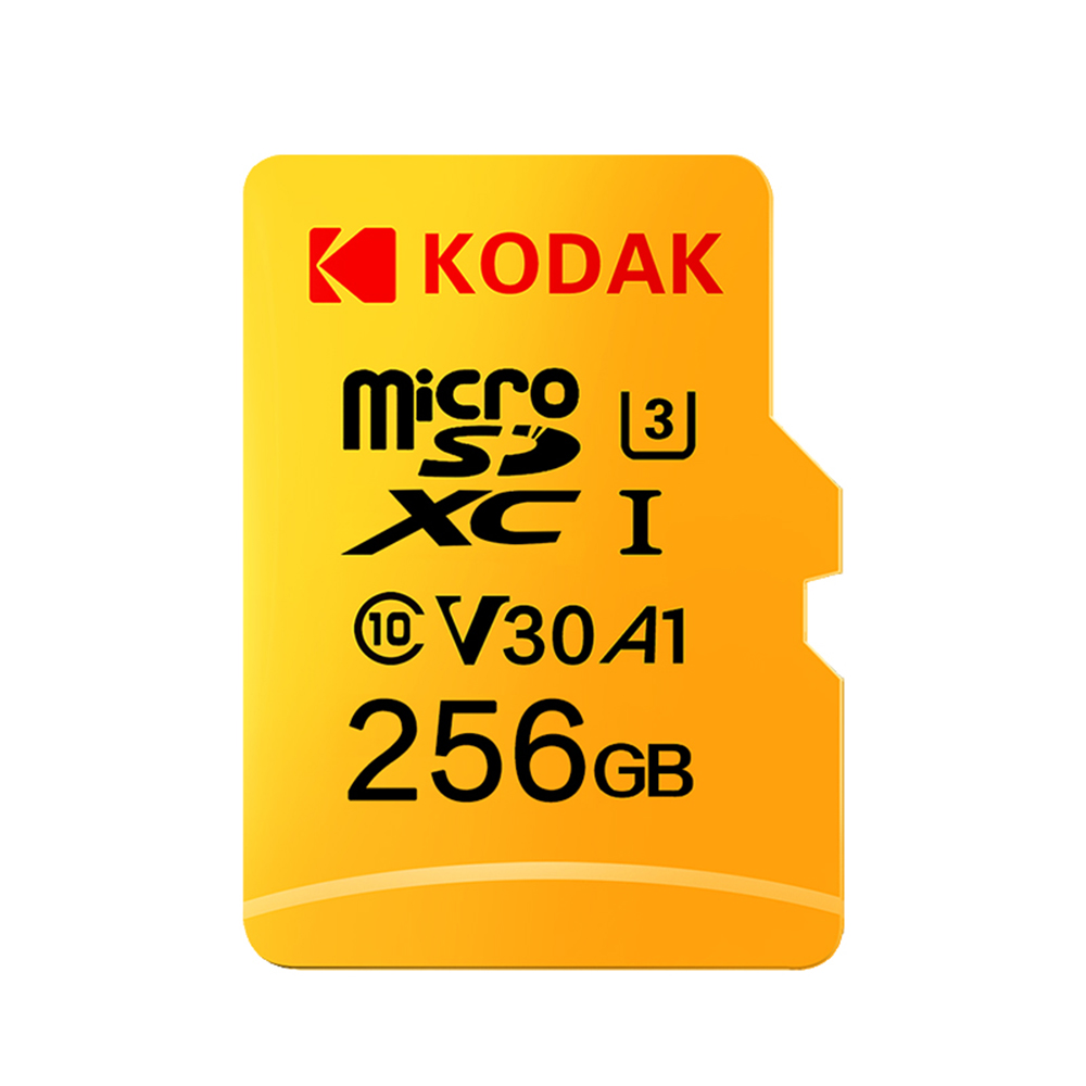 Kodak Micro SD Card 32GB 64GB 128GB 256GB 512GB TF Card U3 A1 V30 Memory Card 100MB/s Reading Speed 4K Video Record
