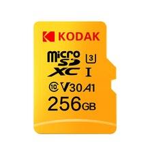 Kodak Micro SD карта 32 Гб 64 Гб 128 ГБ 256 ГБ 512 ГБ TF Карта U3 A1 V30 карта памяти 100 МБ/с./с скорость чтения 4 K запись видео