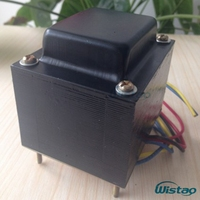 IWISTAO 92W Power Transformer EI for Tube Amplifier Preamplifier 180V 0 180V/150ma 6.3V 0 6.3v/2 A 6.3V/2 A Audio HIFI DIY