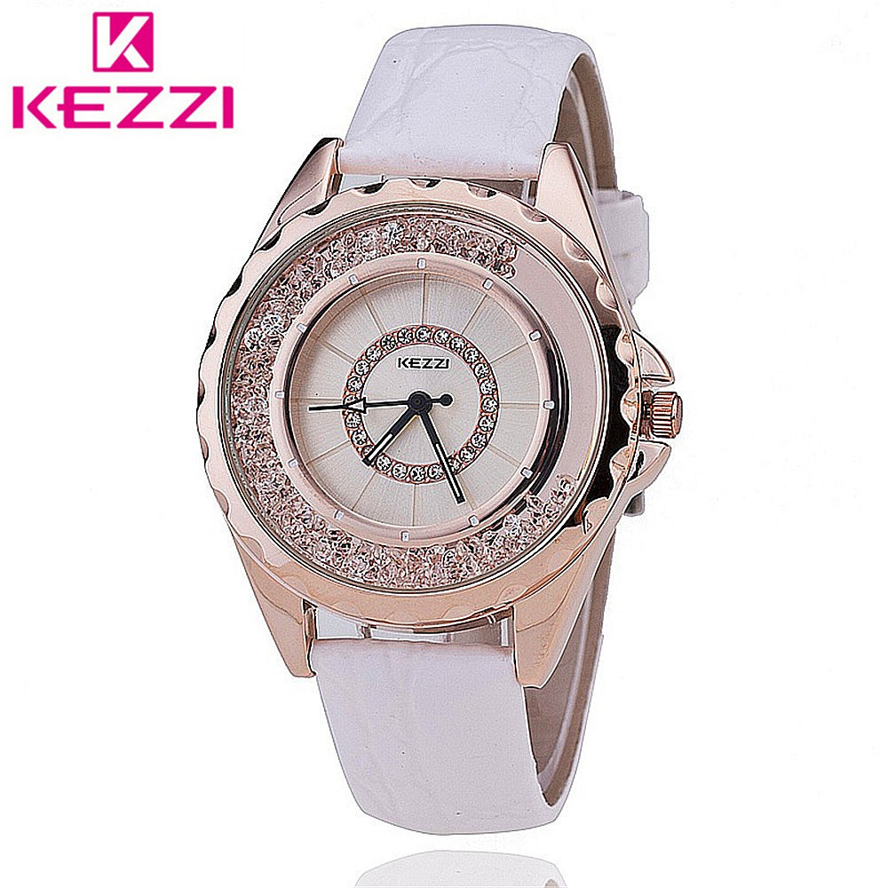 KEZZI Watch K742 Women Leather Strap Quartz Watch Casual Watch relogio feminino Japan PC Movement  title=