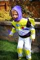 Regalo navidad navidad Buzz Lightyear Outfit chicos Kids Costume Party Present 2-7Y
