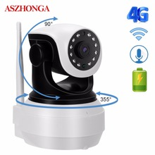 3G 4G SIM Card IP Camera 1080P HD Wireless Baby Home WiFi Security Camera IR Night Vision CCTV Surveillance 2 Way Audio