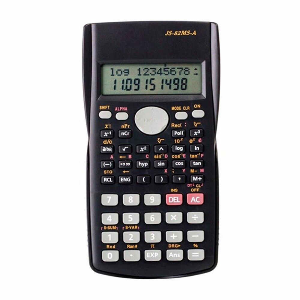 Ручной силикона научных Многофункциональный Математика калькулятор карманный калькулятор Солнечная Калькуляторы для преподавания офис
