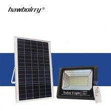 Waterproof Solar Flood Light 10W25W40W60W Remote Control + Timer Outdoor Lighting LED Spotlight Garden
