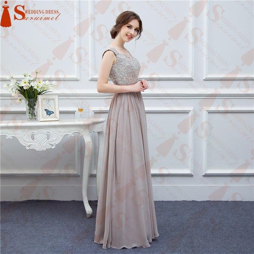 Groß Graues Jahrgang Brautjungfer Kleid Zeitgenössisch ...