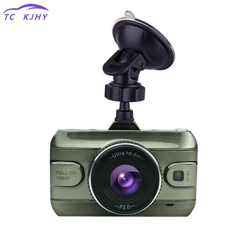 Full Hd1080p Night Vision Car Camera Dash Cam Car Dvr 3 Inch Car Dvr Camera Car Video Recorder Loop Recording Dash Cam Display