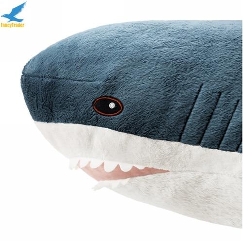 Fancytrader 39\'\' Big Plush Hammerhead Shark Soft Stuffed Lifelike Animal Shark Toy for Kids 100cm Great Gift & Home Decoration (4)