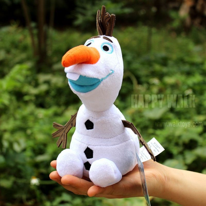 Olaf Plush Kids Toys Kawaii 23cm Snowman Ilaf Cartoon Plush Toys Doll Soft Stuffed Toys Brinquedos