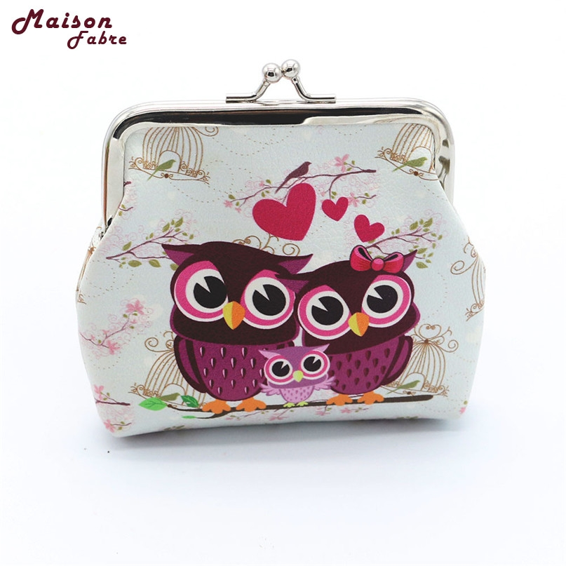 где купить Hot women Retro Vintage Owl Small Wallet Hasp Purse Clutch Bag drop shipping 080719% по лучшей цене