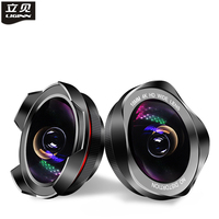 LIGINN 18mm 4K HD Wide Angle Lens Clip On Camera Phone Lenses for iPhone Android Samsung Huawei Mobile Phones and Tablets