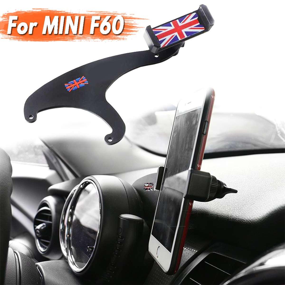 Auto Steering Wheel Phone Holder For BMW For Mini Cooper Cooper S R55 R56 R60 R61 F54 F55 F56 F60 Mini Countryman steering wheel phone holder