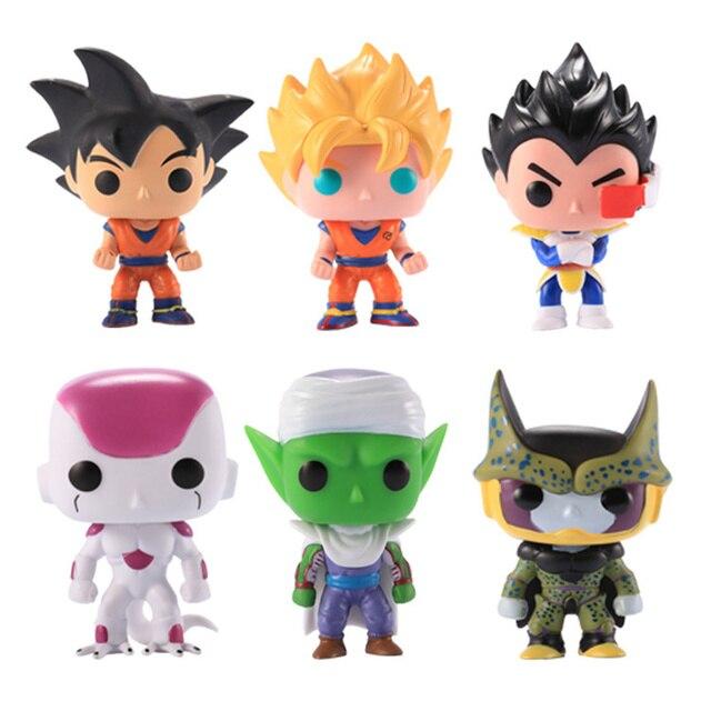 Funko Pop Dragon Ball Super Son Goku Vegeta Krillin Piccolo Rose