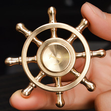 Fidget Spinner Pirates of the Caribbean Metal Hand Spinner Autism Adult Anti Relieve Stress Tri-spinner Stress Wheel