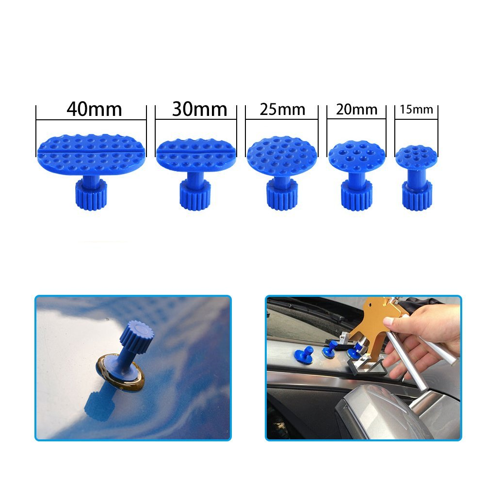 DR Tools Kit High Quality glue sticks 8pcs glue tabs use for Car Paintless Dent Repair - Dent Puller Glue Tabs