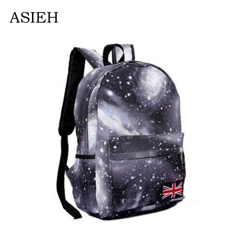цена на Dream Sky Backpack Casual backpack Teenagers Night sky pattern school bag student Laptop backpack eastpack school bag mochila