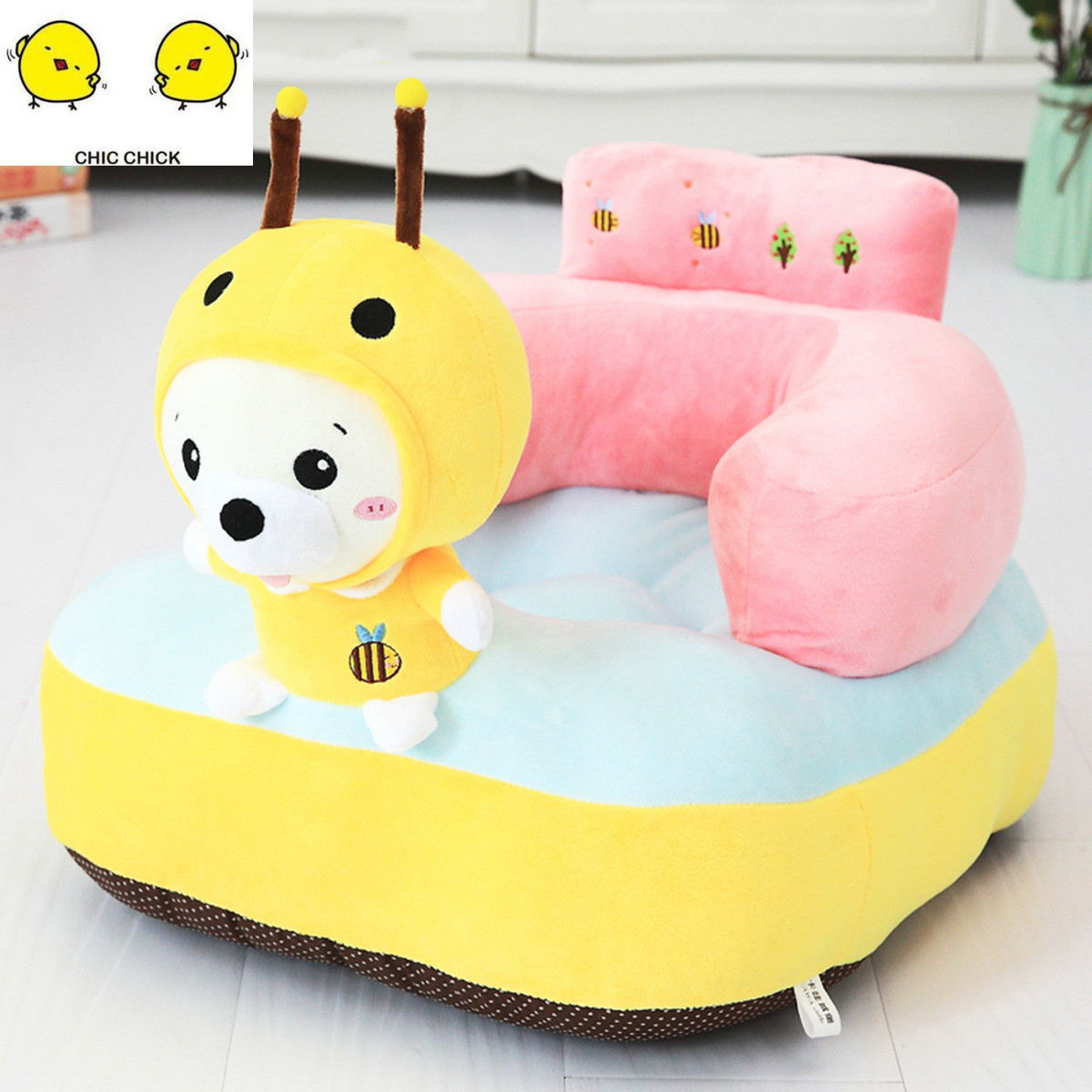 Babies Learn to Sit Sofa Babies Plush Toys Children Eating Safety Seats Birthday Gifts For Boy And Girl