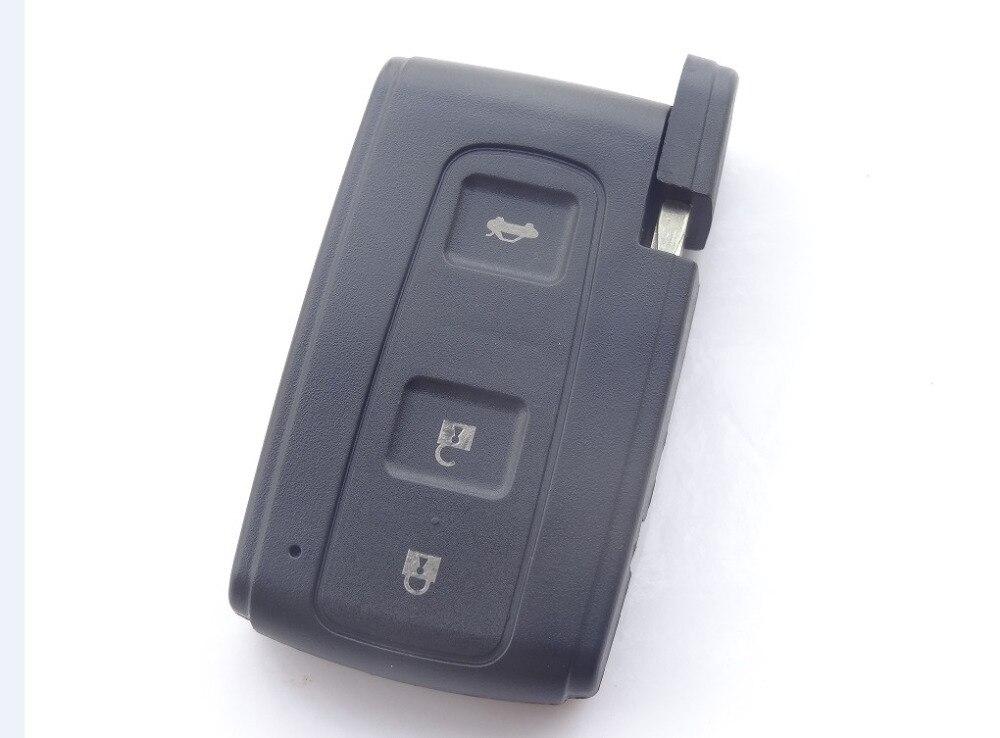 Nuevo Reemplace coche clave Fob cubierta de la Cáscara se ajusta para TOYOT AVEN