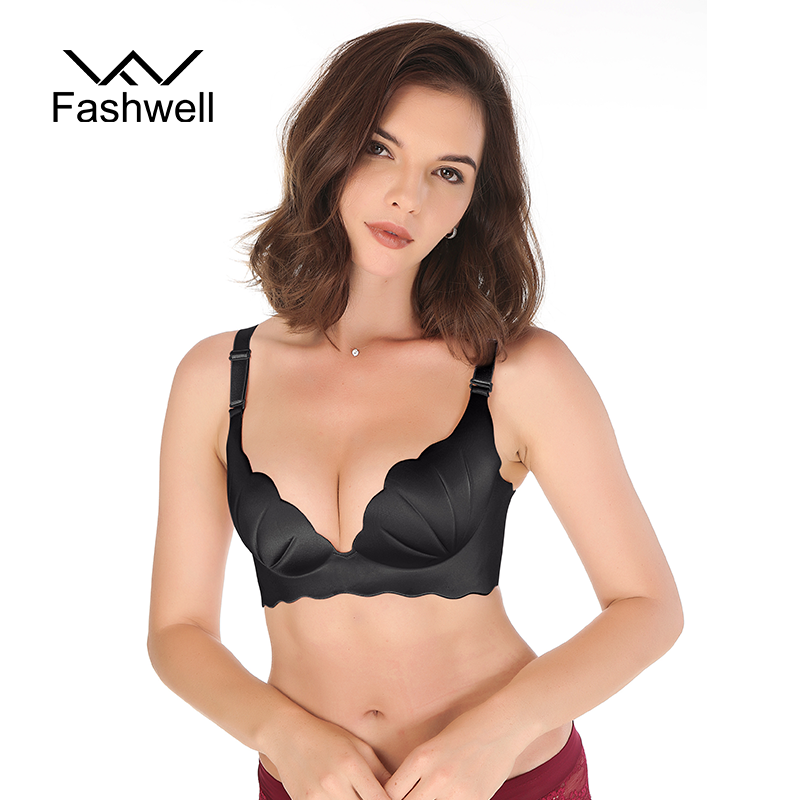 New Plus Up Seamless Women Bras Adjustable Brassiere Lingerie Sexy Push size Bra Bras For Women Underwear Bra
