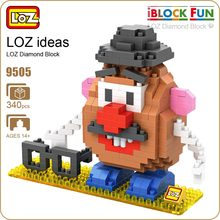 LOZ Diamond Blocks Plastic Building Blocks Kids Children Gift Educational Toy Cartoon Model Educational Diy Building