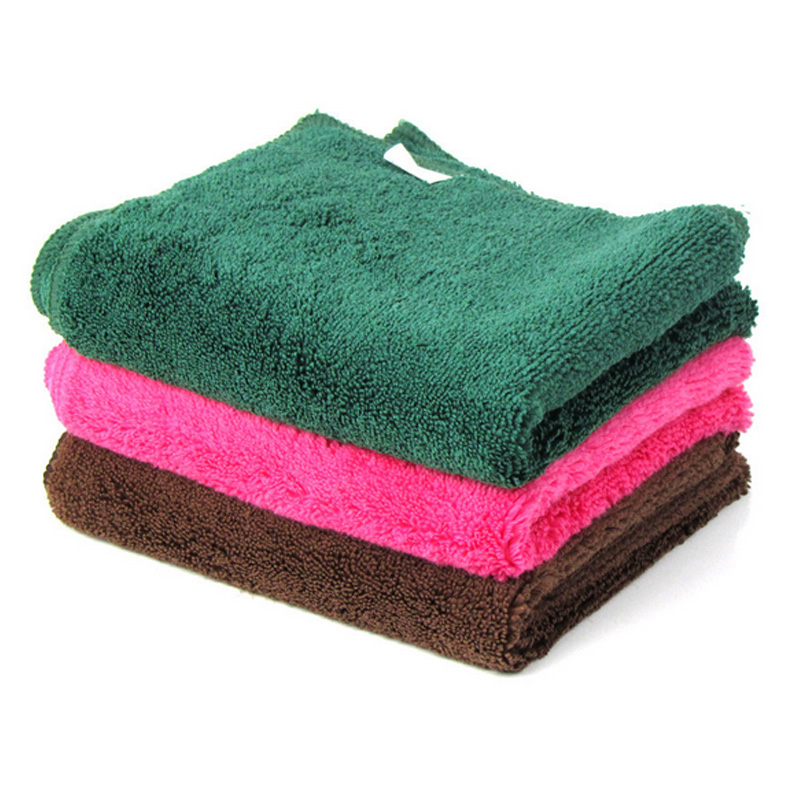 40X60cm Thicker Car Wash Cloths Cleaning Towel Care Detailing Super Absorp Water Microfiber Universal Home Auto Thickened Towel