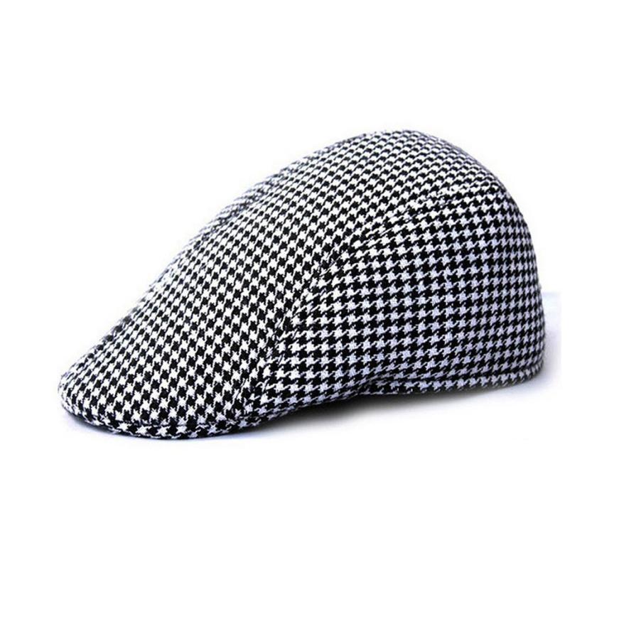 2017 New Design Duckbill Driving Flat Ivy Beret Cap Peaked Sport Hat Golf Cabbie Hat BK mens hats vintage boina masculina