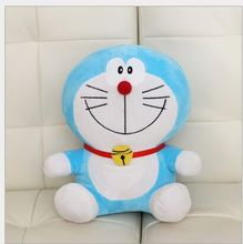 lovely plush doraemon toy stuffed cute smile doraemon doll perfect gift about 35cm