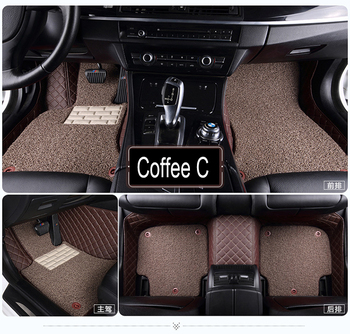 Car floor mats for Mitsubishi Galant ASX Pajero sport V73 V93 5D car styling all weather carpet floor liner