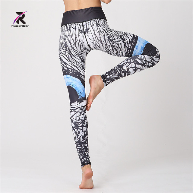 Women High Waisted Activewear Sports Tights Yoga Pants