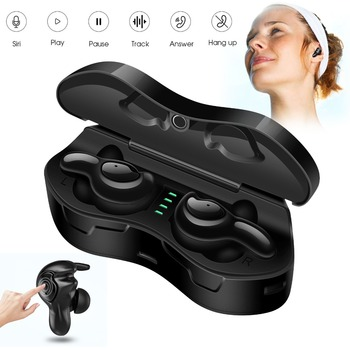 Universal TWS Ture Wireless Stereo Earphones Mini Headphones Bluetooth V5.0 Headset Handsfree Call For Travel Business