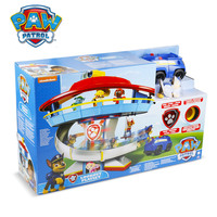 Paw Patrol Dog Puppy Patrol Car Large Command center Headquarters slideway Toy Set Kids Action Figures Gifts Genuine original