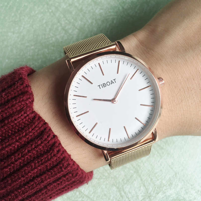 2019 nuevo reloj de cuarzo para mujer, reloj de pulsera de lujo para mujer, reloj de pulsera para chica, reloj de esfera con carcasa femenina