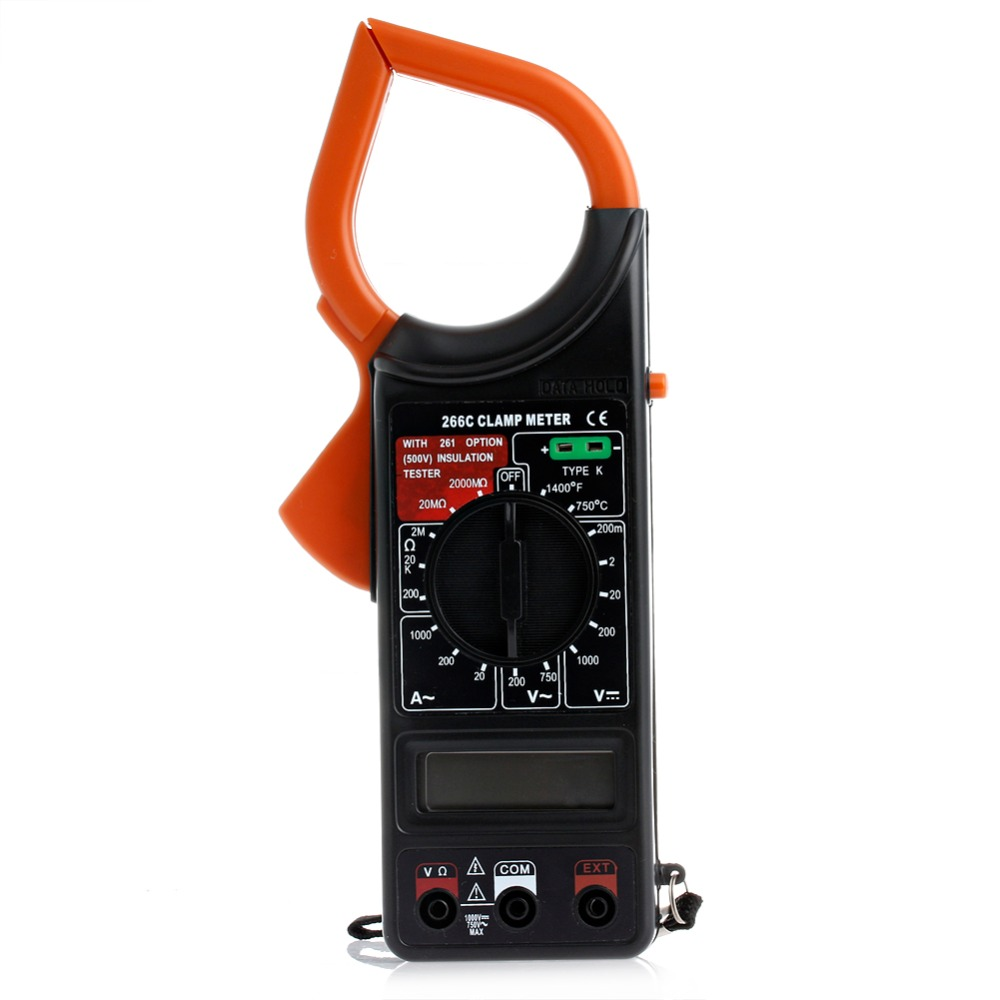 Digital Voltmeter Ammeter Ohmmeter Multimeter Volt AC Tester Clamp Meter -Y103 digital multimeter voltmeter ammeter ohmmeter resistance ac dc tester meter