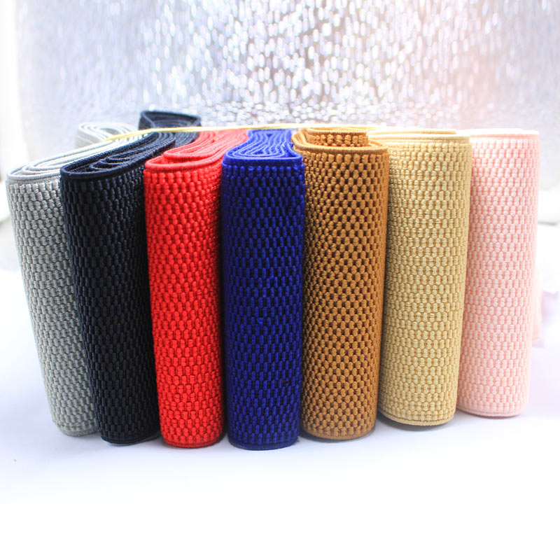 10 Cm Color Loose Tight Belt / Corn Pattern Elastic Band / Waistband Belt / DIY Garment Accessories