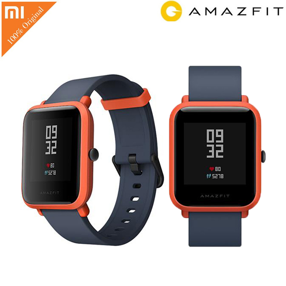 Huami AMAZFIT Bip Lite Youth Edition Smart Watch GPS GLONASS Bluetooth 4.0 Heart Rate Monitor IP68 Waterproof Android IOS original amazfit bip youth edition smart watch gps glonass bluetooth 4 0 heart rate monitor ip68 waterproof android 4 4 ios 8