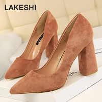 Bigtree Shoes 2019 New Women Pumps Fashion Women High Heels Shoes Spring FWedding Shoes Women Kitten Heels Bridal Shoes