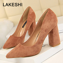 Bigtree Shoes 2019 New Women Pumps Fashion Women High Heels