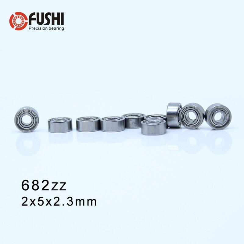 Double Metal Shielded PRECISION Ball Bearing 2*5*2.3 2x5x2.3 mm 50 PCS 682ZZ