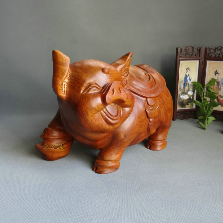 Wood Carving Crafts Home Hy Pig